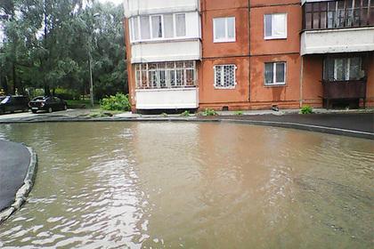 В Перми недавно отремонтированная улица ушла под воду
