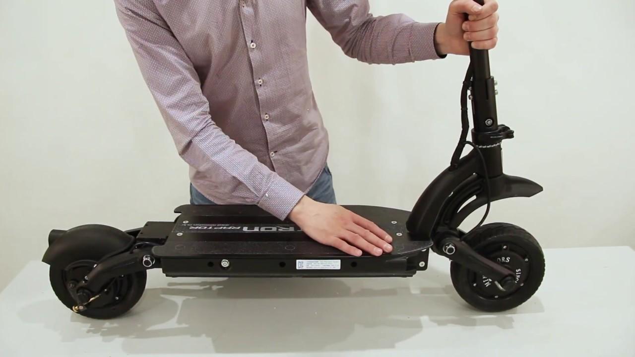 Где можно купить электрический самокат Dualtron 2 Raptor 18ah Black