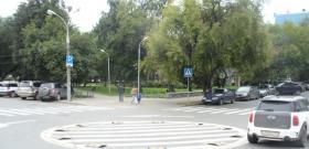В Перми одно из дорожных мини-колец перенесли на другой перекресток